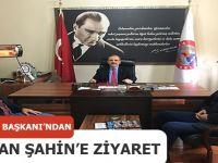 OYADER'DEN BAŞKAN ŞAHİN'E ZİYARET