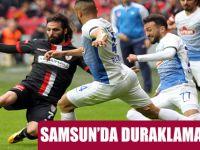 Samsunspor: 0 - Çaykur Rizespor: 0