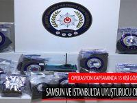 Operasyon Kapsamında 15 Kişi Gözaltına Alındı