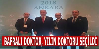 Bafralı Doktor, Yılın Doktoru Seçildi