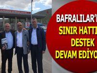 Bafralılar'dan Sınır Hattına Destek Devam Ediyor