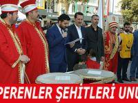 ALPERENLER ŞEHİTLERİ UNUTMADI