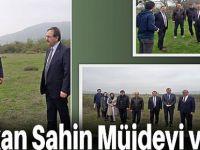 Başkan Şahin'den Bafraya  Mujde
