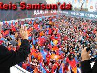 Reis Samsun'da