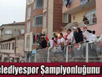 Havza Belediyespor Şampiyonluğunu Kutladı