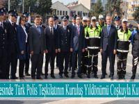 19 Mayıs İlçesinde Türk Polis Teşkilatının Kuruluş Yıldönümü Coşkuyla Kutlandı.