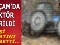 Alaçam'da Traktör Devrildi; 1 Ölü