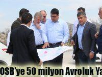 Havza OSB'ye 50 milyon Avroluk Yatırım