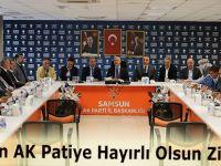 MHP'den AK Patiye Hayırlı Olsun Ziyareti