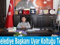 Alaçam Belediye Başkanı Uyar Koltuğu Teslim Etti
