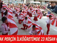 Şehit Burak Perçin İlköğretim Okulu'nda 23 Nisan coşkusu