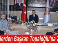 AK Gençlerden Başkan Topaloğlu'na Ziyaret