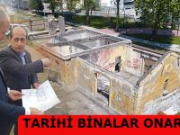Tekkeköy'deki Tarihi Gar Binaları Restore Ediliyor
