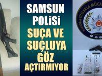 Samsun Polisi Suça Ve Suçluya Göz Açtırmıyor 15 Gözaltı