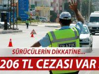 SÜRÜCÜLERİN DİKKATİNE !!!