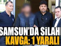 Samsun 'da silahlı kavga: 1 yaralı