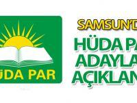 Samsun'da Hüda PAR adayları açıklandı