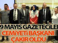 19 Mayıs Gazeteciler Cemiyeti Başkanı Çakır oldu