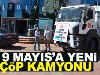 19 Mayıs Belediyesine Hibe Çöp Toplama Aracı Kazandırıldı