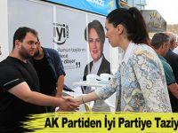 AK Partiden İyi Partiye Taziye Ziyareti