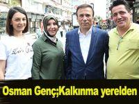 Osman Genç;Kalkınma yerelden başlar