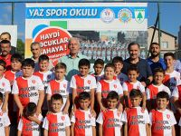 Alaçam'da Yaz Futbol Okulları