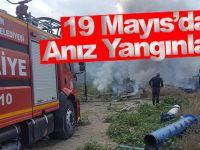 19 Mayıs'da Anız Yangınları