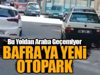 Bafra'da Bu Yoldan Araba Geçemiyor