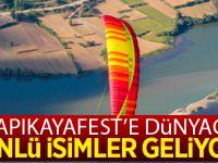 Kapıkayafest'e Dünyaca Ünlü İsimler Geliyor
