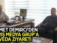 Hikmet Demirci'den Barış Medya Grup'a Ziyaret