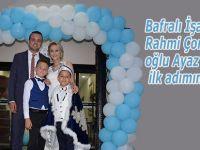 Bafralı İş adamı Rahmi Çorbacının oğlu Ayaz erkekliğe ilk adımını attı