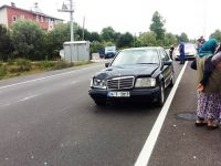 Çarşamba'da Araç Çocuğa Çarptı