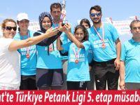 Yakakent'te Türkiye Petank Ligi 5. etap müsabakaları