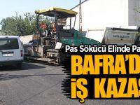 Bafra'da İş Kazası