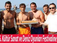 Yakakent 46. Kültür Sanat ve Deniz Oyunları Festivaline Yoğun İlgi