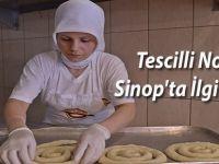 Tescilli Nokul Sinop'ta İlgi Odağı