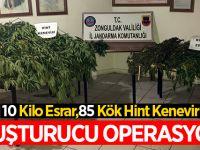Uyuşturucu Operasyonu:10 Kilo Kubar ele geçirildi
