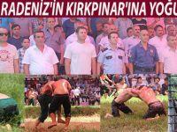 KARADENİZ'İN KIRKPINAR'INA YOĞUN İLGİ