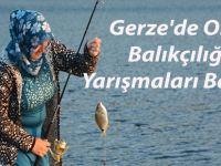 Gerze'de Olta Balıkçılığı Yarışmaları Başladı