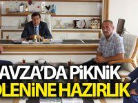 Havza'da Piknik Şölenine Hazırlık