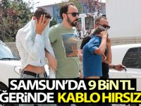 Tekkeköy'de Kablo Hırsızlığı İddiası