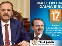 Başkan Zihni Şahin: Ak Partinin Sahibi Milletimizdir