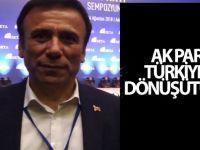 AK Parti Türkiye'yi dönüştürdü