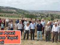 Köylüler Arazi Tahsisine Tepki Gösterdi