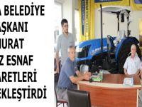 Havza Belediye Başkanı Murat İkiz esnaf ziyaretleri gerçekleştirdi.