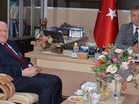 Rektör  Aydın, Başkan Topaloğlu'nu Ziyaret Etti.