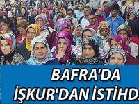 Bafra'da İŞKUR'dan istihdam