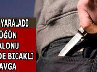 Samsun'da Düğün Salonu Önünde bıçaklı saldırı
