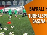 Bafralı Hoca Turhalspor'un Başına Geçti