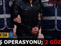 Samsun'da Deaş Operasyonu; 2 Gözaltı